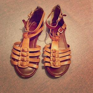 Aldo Gladiator Sandals 7.5